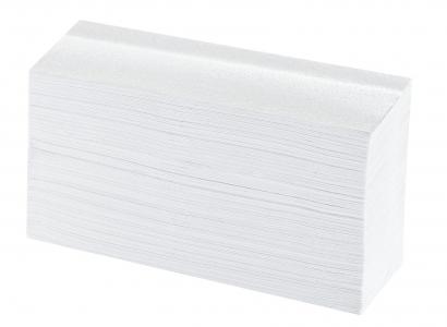 Faltpapier Premium, 2-lagig, 21×34 cm, hochweiß