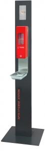 Infra Hygiene Station mit Standfuß 1000ml Euroflasche