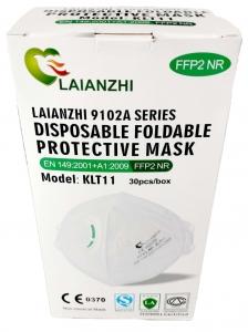 FFP2 NR filtrierende Halbmaske mit Ventil (FFP2 TOV)