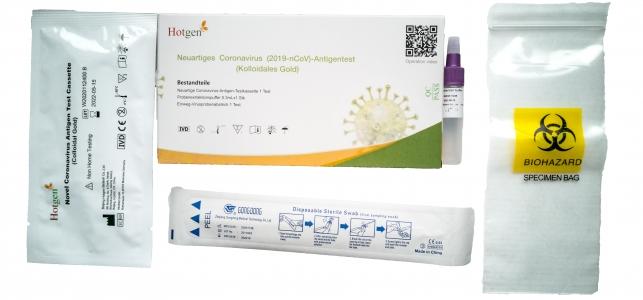 Corona Schnelltest HOTGEN NOVEL Coronavirus 2019nCoV