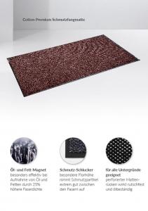 Schmutzfangmatte Cotton Plus ® , 115×200