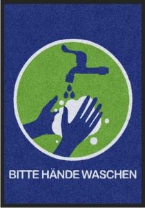 Matte -Hygiene- BITTE HÄNDE WASCHEN