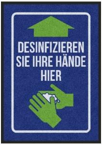 Matte -Hygiene- DESINFIZIEREN
