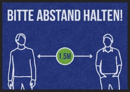 Matte -Hygiene- BITTE ABSTAND