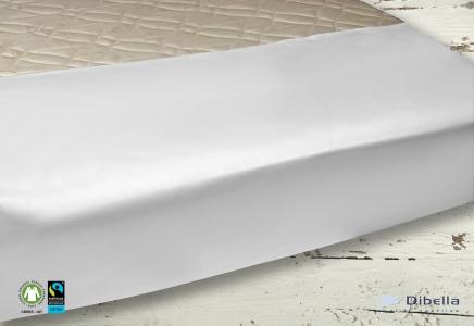 Laken TIOBA, braune Naht 180×300