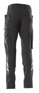 Damen Bundhose mit Knietaschen, Diamond Fit, Vier-Wege-Stretchstoff