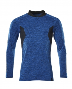 Polo-Shirt, Langarm meliert, Kaufartikel