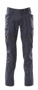 Hose mit Schenkeltaschen, Stretch-Einsätze