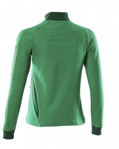 Damen Sweatshirt mit Reißverschluss, Ladies Fit