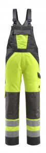 Latzhose SAFE LIGHT mit Knietaschen