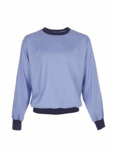 Reinraum Unterzieh-T-Shirt mit Strickbündchen