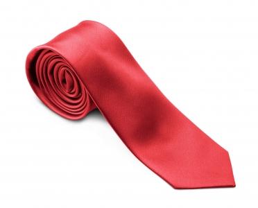 Krawatte SLIMLINE rot