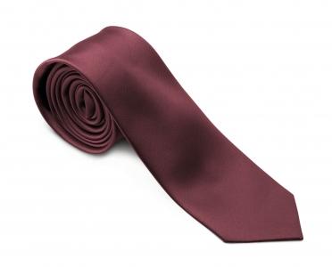 Krawatte SLIMLINE bordeaux