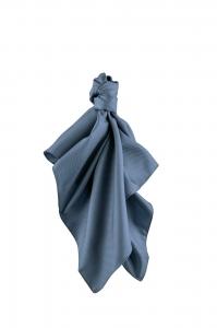 Tuch gewebt blau