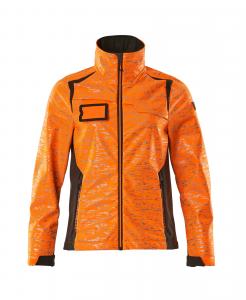 Damen-Softshell-Jacke Accelerate SAFE HI VIS