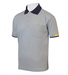 ESD Polo-Shirt CONDUCTEX Cotton Knit, kurzarm