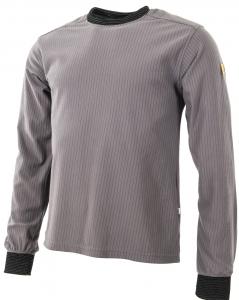 ESD U-T-Shirt, langarm mit Brusttasche