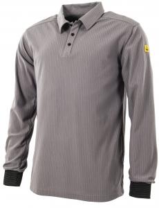 ESD U-Polo-Shirt, langarm