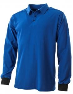 ESD U-Polo-Shirt, langarm mit Brusttasche