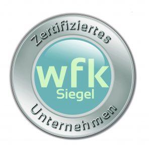 wfk_Siegel fuer Textilhygiene zur Aufbereitung von Reinraumtextilien