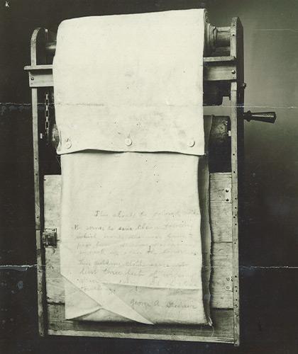 Geschiedenis 1918 - Behoefte maakt inventief