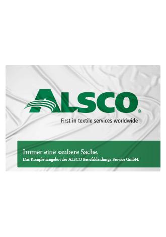 Broschüre Alsco Aquise