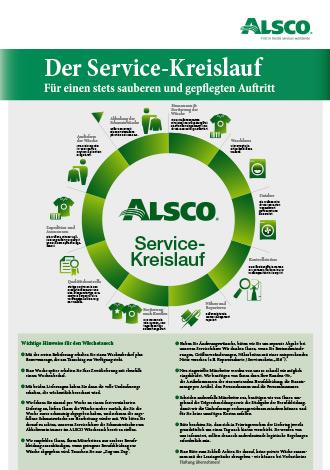 Broschüre Alsco Servicekreislauf