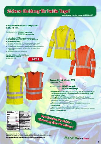 UV Warnschutzkleidung