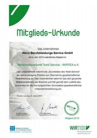 WIRTEX-Mitgliedsurkunde-2019