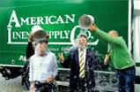 Geschiedenis 2014: Alsco's deelname aan de Ice Bucket Challenge