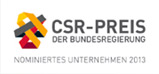 Geschichte 2013: CSR-Preis