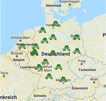 Alsco Deutschland Niederlassungen