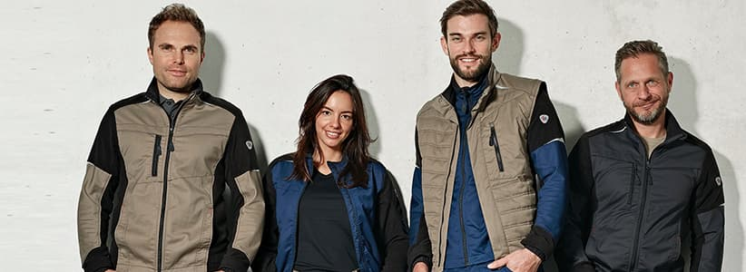 alsco workwear arbeitskleidung kollektion bplus