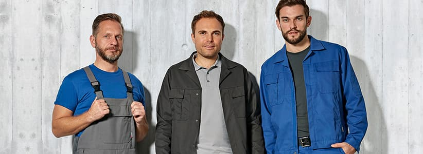 workwear workline uni header