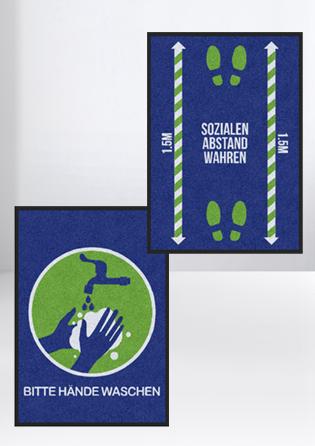 Fußmatten-Hygiene