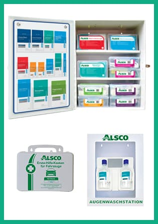 Erste-Hilfe-Produkte im Miet-Service